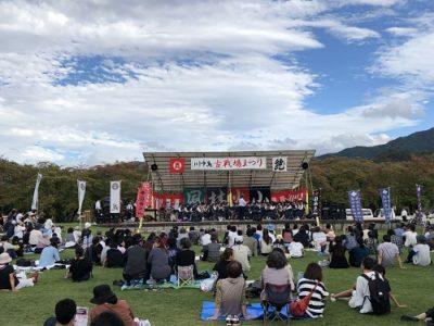 台風19号により川中島古戦場まつり大花火大会の開催は中止